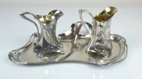A Group of WMF Art Nouveau Metal Wares, 3pcs