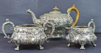 A George IV Sterling Silver Tea Service