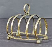 A Sterling Silver Toast Rack