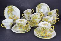 A Shelley China Daffodil Time Part Tea Set