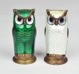 A Set of David Andersen Salt and Pepper Shakers