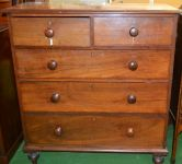 A Western Australian Colonial Jarrah Chest of