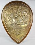 Large Shield shaped wall Plaque