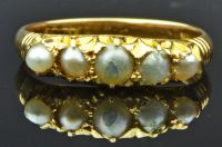 A Western Australian 18ct Pearl Ring by Adolph O