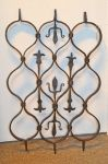An Italian Wrought Iron Grille / Grate