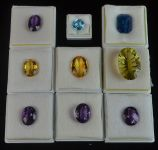 Parcel of 9 Loose Gemstones