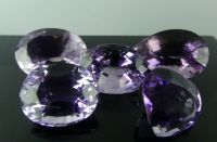 A Collection of Natural Amethyst