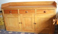 A Scottish Pine and Ash Sideboard
