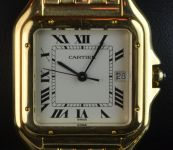 18ct Yellow Gold Cartier Panthere Watch