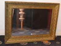 A Gilt Frame Bevelled Glass Wall Mirror