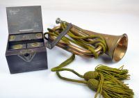 WW1 Officers Tea Caddy Together with a Brass &