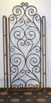 A French Wrought Iron Gate