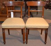 A Pair early Victorian Mahogany Chairs