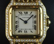 18ct Yellow Gold and Diamond Cartier Panthere