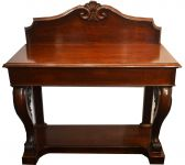 A Victorian Mahogany Console Table