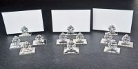 Set of 12 Georg Jenson Place Card Holders