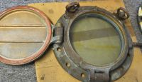 Two Brass Portholes