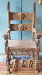 A West African Tribal Wooden Chair