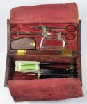 A WW1 Era Mahogany Cased Medical Kit