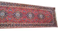 A Persian Hand Knotted Wool Kashan Runner