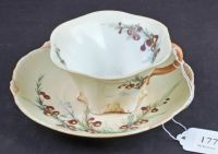 A Cup and Saucer Painted by May Creeth