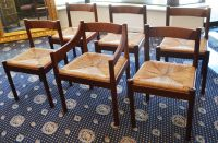 David Foulkes Taylor: Set of Six Catt Jarrah Dining